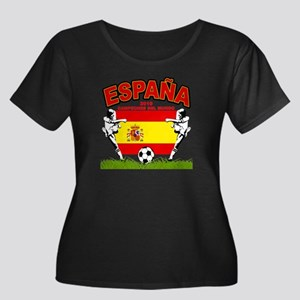 Spain World cup champions Women's Plus Size Scoop
