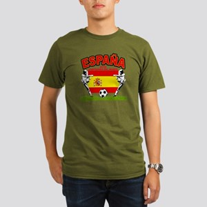 Spain World cup champions Organic Men's T-Shirt (d