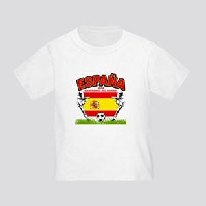 Spain World cup champions Toddler T-Shirt