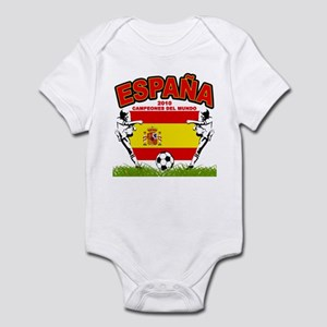 Spain World cup champions Infant Bodysuit