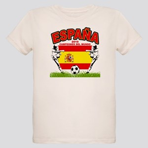 Spain World cup champions Organic Kids T-Shirt