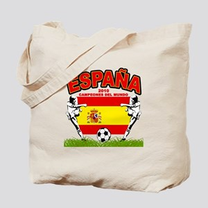 Spain World cup champions Tote Bag