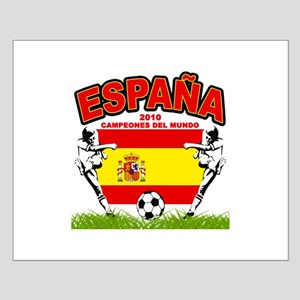 Spain World cup champions Small Poster
