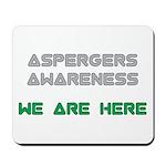 Asperger Awareness Mousepad