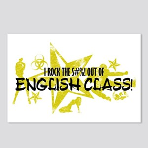 I ROCK THE S#%! - ENGLISH CLASS Postcards (Package