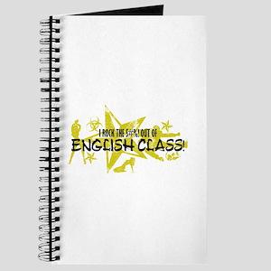 I ROCK THE S#%! - ENGLISH CLASS Journal