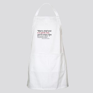 Chief End of Man Apron