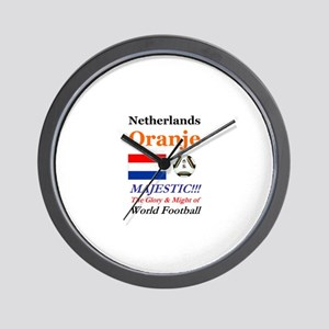 Netherlands World Soccer / Football 201 Wall Clock