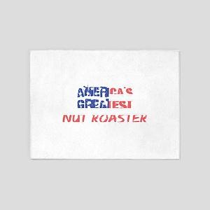 America's Greatest Nut Roaster 5'x7'Area Rug