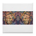 African art Tile Coaster
