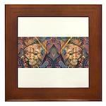 African art Framed Tile