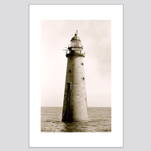 Lighthouse Large Poster