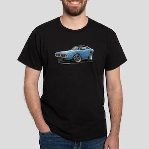 Charger Lt Blue-Black Car Dark T-Shirt