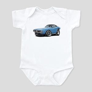 Charger Lt Blue-Black Car Infant Bodysuit