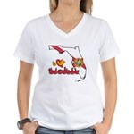 ILY Florida Women's V-Neck T-Shirt