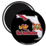 ILY Florida Magnet