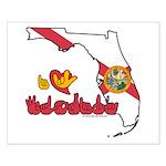 ILY Florida Small Poster