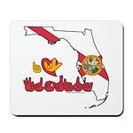 ILY Florida Mousepad