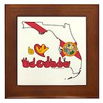 ILY Florida Framed Tile