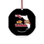 ILY Florida Ornament (Round)