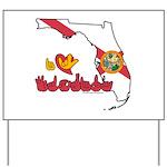 ILY Florida Yard Sign