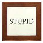 Stupid Framed Tile
