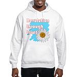 Revolution through love Hoodie