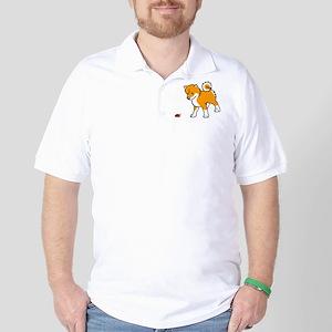 Shiba Bug Golf Shirt