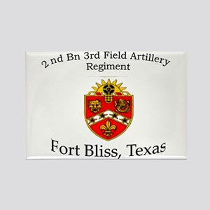 2nd Bn 3rd FA Rectangle Magnet