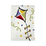 Kite Fly Rectangle Magnet