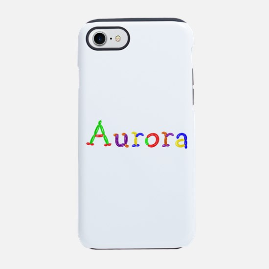 Aurora Balloons iPhone 7 Tough Case