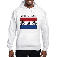 Nederland Flag Hoodie