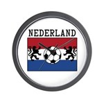 Nederland Soccer Wall Clock