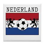 Nederland Soccer Tile Coaster