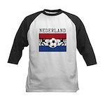 Nederland Soccer Kids Baseball Jersey