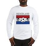 Nederland Soccer Long Sleeve T-Shirt