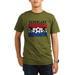 Nederland Soccer Organic Men's T-Shirt (dark)