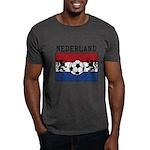Nederland Soccer Dark T-Shirt