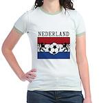 Nederland Soccer Jr. Ringer T-Shirt