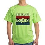 Nederland Soccer Green T-Shirt
