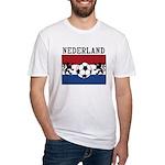 Nederland Soccer Fitted T-Shirt