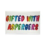 Gifted with Aspergers Magnets (10 pack)