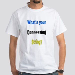 SQL Geek White T-Shirt
