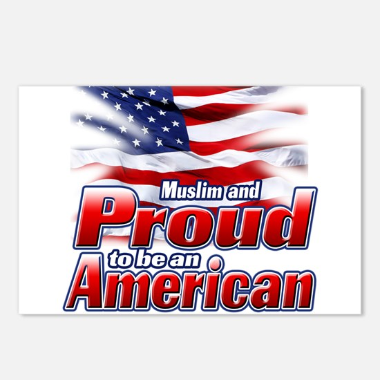 Muslim and Proud to be an American Postcards (Pack