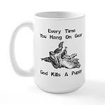 Don't Hangdog! Large Mug