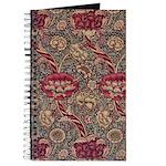 Art Nouveau Red Vines Journal