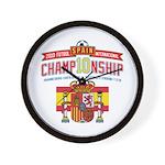 2010 Championship Wall Clock