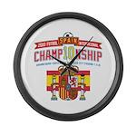 2010 Championship Large Wall Clock