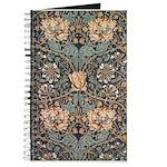 Art Nouveau Blue Vines Journal