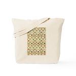 Flower Garden Tapestry Tote Bag